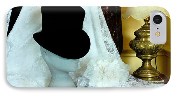 A Bridal Scene IPhone Case by Terri Waters