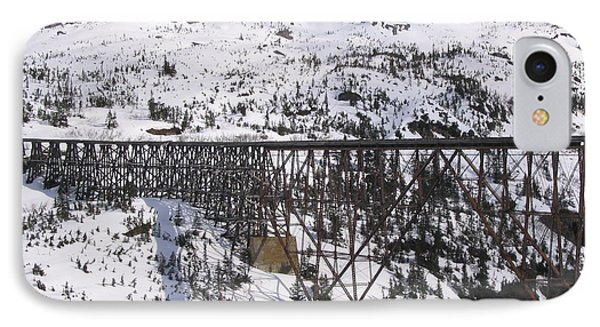 A Bridge In Alaska IPhone Case by Brian Williamson