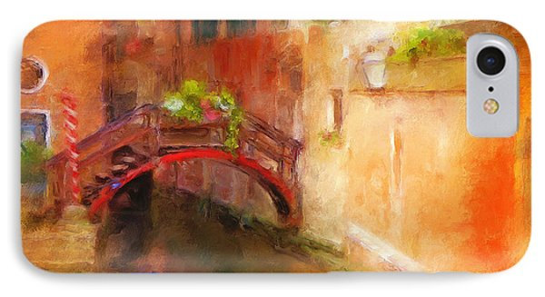 A Bridge In Venice Phone Case by Jane Fiala