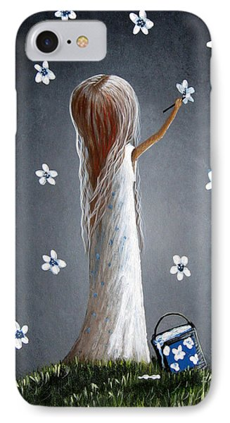 Whimsical Paintings IPhone Case by Shawna Erback