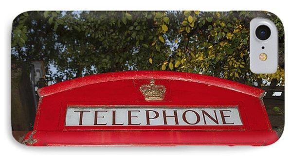 A British Phone Box IPhone Case