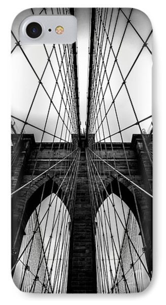 Architecture iPhone 7 Case - A Brooklyn Perspective by Az Jackson