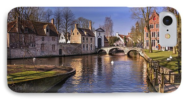 Blue Bruges IPhone Case by Carol Japp
