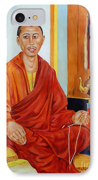 A Buddhist Monk IPhone Case