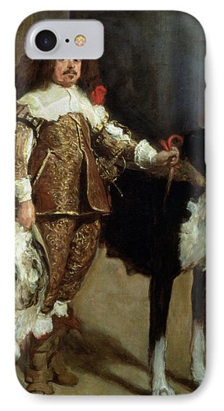 A Buffoon Sometimes And Incorrectly Called Antonio The Englishman IPhone Case by Diego Rodriguez de Silva y Velazquez