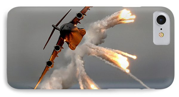 A C-17 Globemaster IIi Releases Flares Phone Case by Stocktrek Images