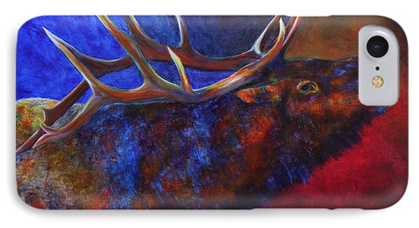 IPhone Case featuring the painting A Call In The Night by Jennifer Godshalk