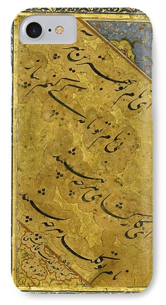 A Calligraphic Quatrain IPhone Case by Celestial Images