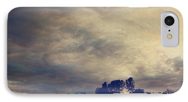 A Calm Sets In Phone Case by Laurie Search