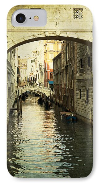 IPhone Case featuring the photograph A Canal In Venice by Ethiriel  Photography