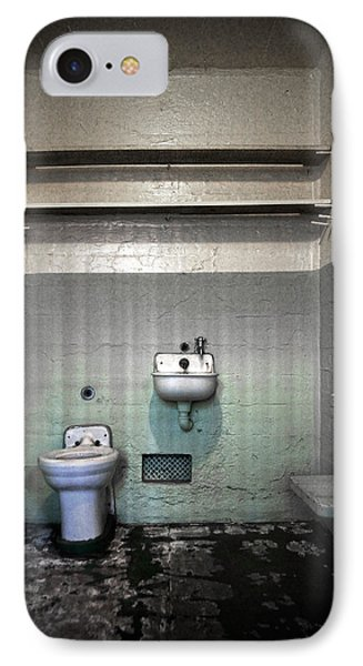 A Cell In Alcatraz Prison IPhone Case by RicardMN Photography