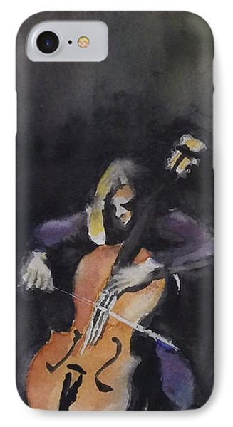 A Cellist IPhone Case by Yoshiko Mishina
