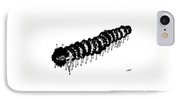 A Centipede With A Crutch And A Cast On Its 8th IPhone Case
