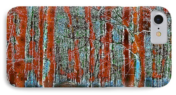 A Change In The Seasons II IPhone Case by David Patterson