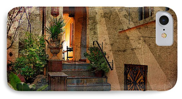 A Charleston Garden IPhone Case by Kathy Baccari