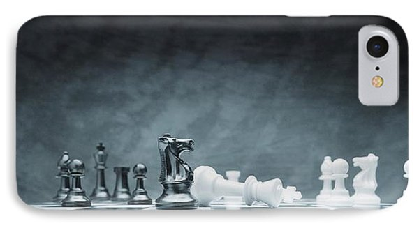 A Chess Game Phone Case by Don Hammond