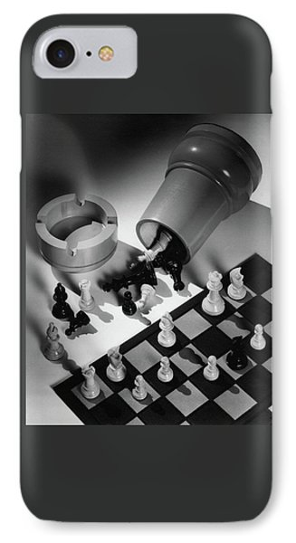 A Chess Set IPhone Case