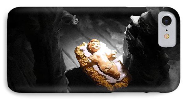 A Child Is Born Phone Case by Nicki Bennett