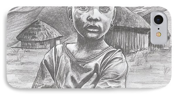 A Child Of Africa IPhone Case