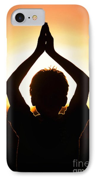 A Childs Prayer IPhone Case by Tim Gainey