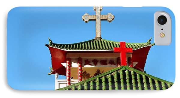 A Chinese Catholic Church In Taiwan IPhone Case