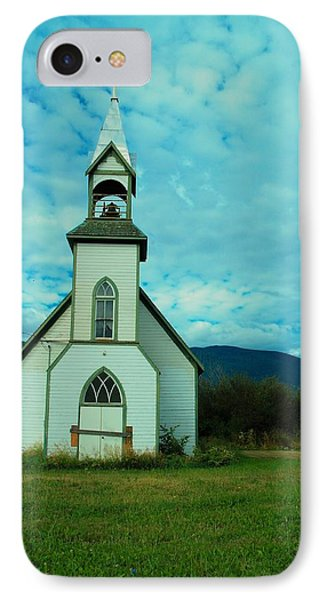 A Church In British Columbia   Phone Case by Jeff Swan