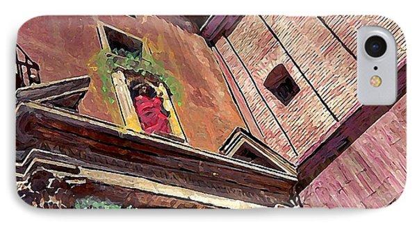A Church In Murcia IPhone Case by Sarah Loft