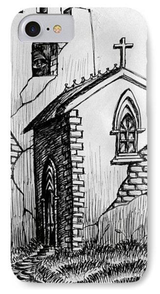 Old Church IPhone Case by Salman Ravish