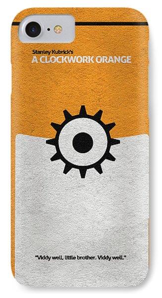 A Clockwork Orange IPhone Case by Ayse Deniz