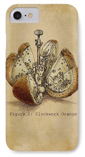 Fruits iPhone 7 Case - A Clockwork Orange by Eric Fan