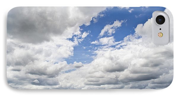 A Cloudy Day Phone Case by Lisa Plymell