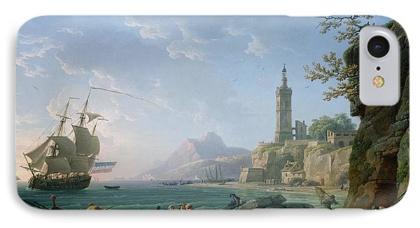 A Coastal Mediterranean Landscape IPhone Case