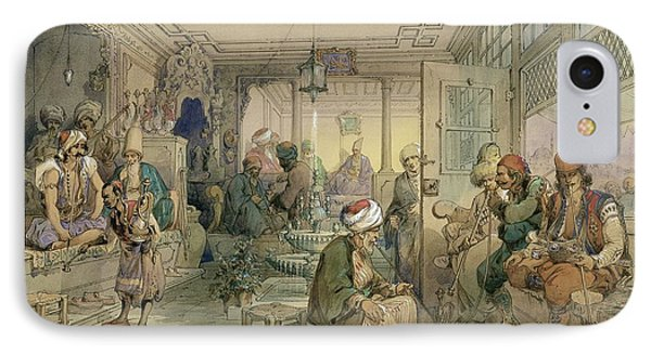 A Coffee House, Constantinople, 1854 IPhone Case
