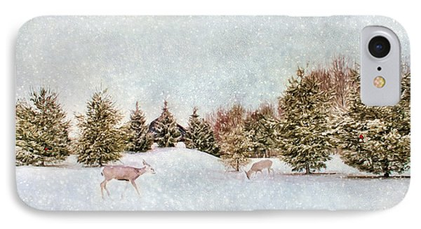 A Cold Winters Day IPhone Case by Darren Fisher