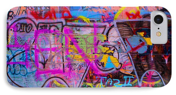 A Colourful Wall. IPhone Case