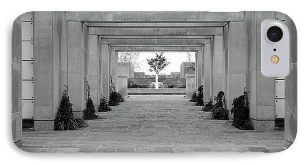 A Columbarium In Arlington IPhone Case by Cora Wandel