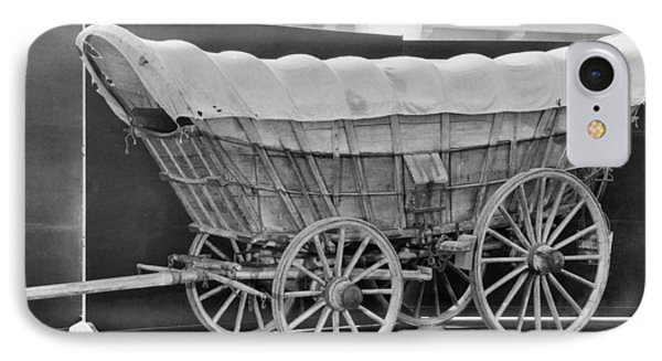 A Conestoga Covered Wagon IPhone Case by Underwood Archives