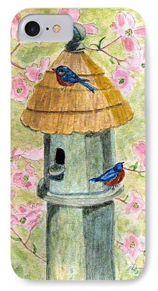 A Cottage For Two Phone Case by Angela Davies