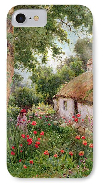 A Cottage Garden IPhone Case by Tom Clough