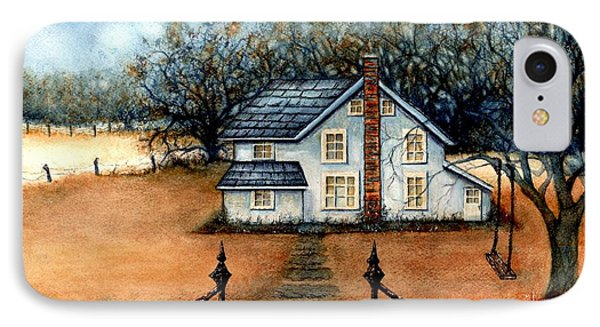A Country Home Phone Case by Janine Riley