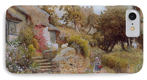 A Country Lane Phone Case by Arthur Claude Strachan