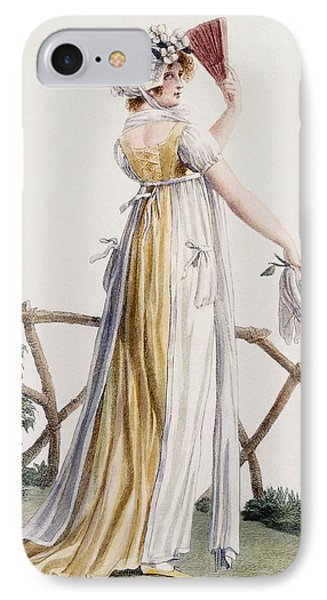 A Country Style Ladies Dress IPhone Case