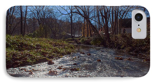 A Creek Runs Though It IPhone Case by Thomas Sellberg