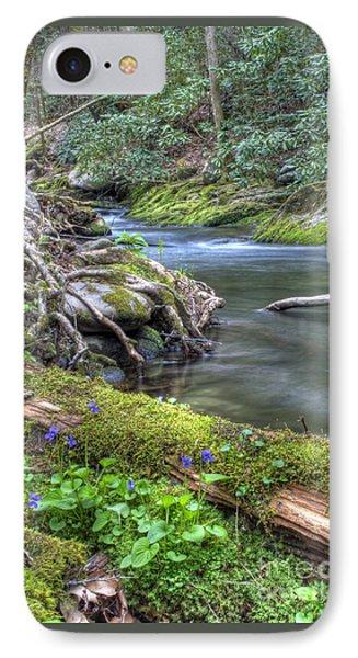 A Creek Side Hike IPhone Case
