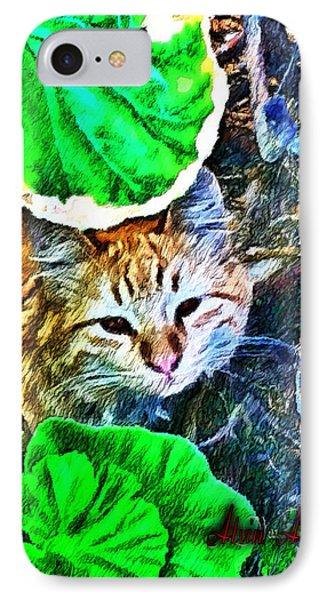 A Curious Cat IPhone Case