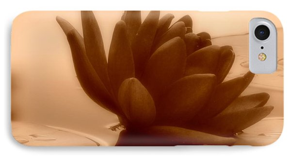 A Dark Water Lily IPhone Case