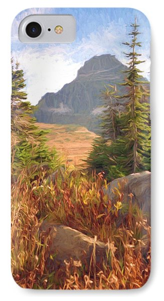 A Day At Glacier Phone Case by Richard Rizzo