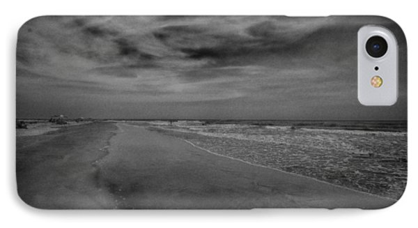 A Day At The Beach IPhone Case by J Riley Johnson