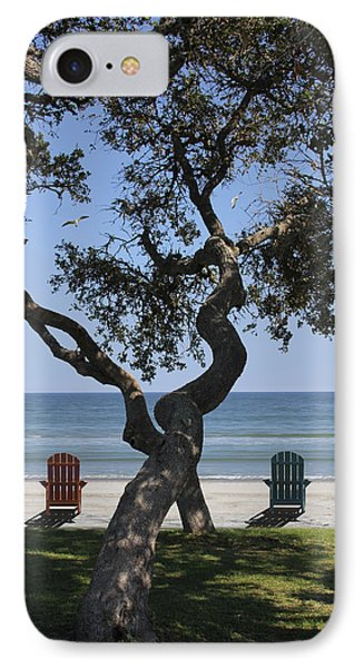 A Day At The Beach Phone Case by Mike McGlothlen