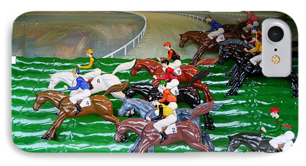 A Day At The Races IPhone Case by Richard Reeve